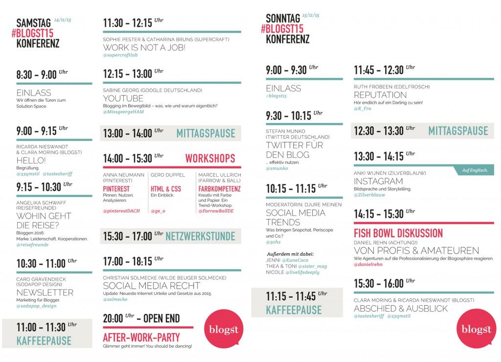 Stundenplan Blogst 15