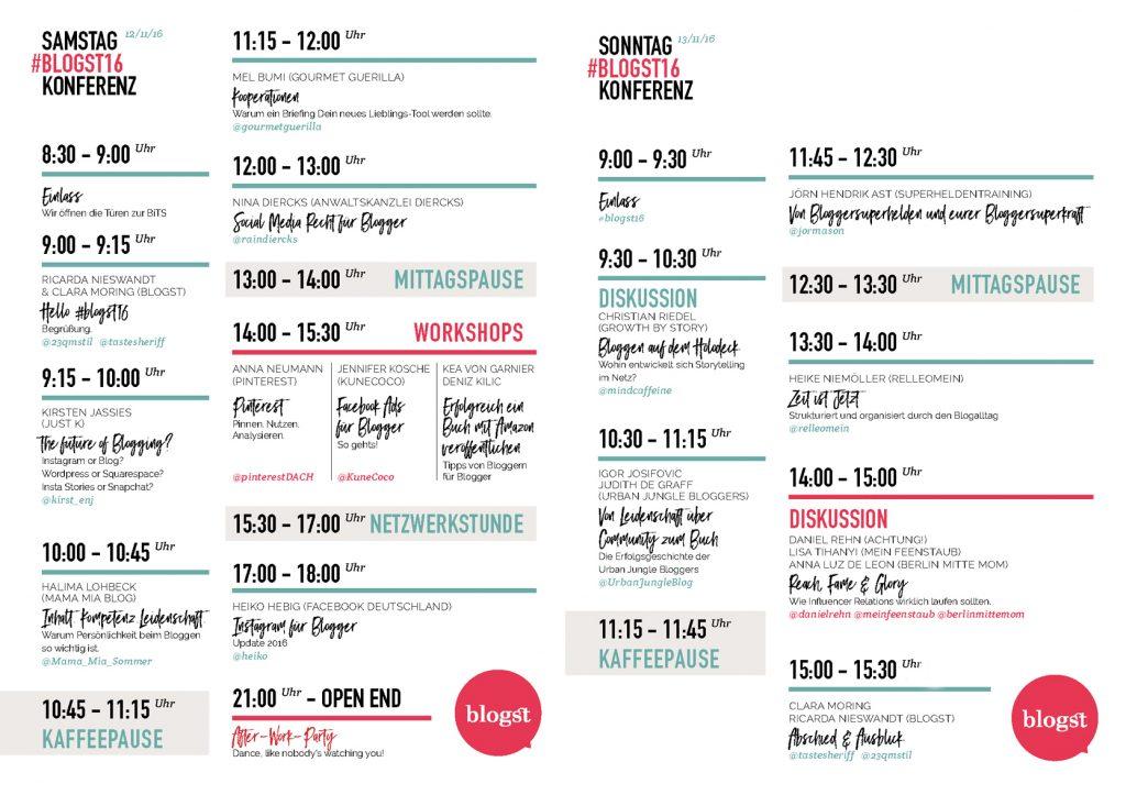 Stundenplan Blogst 16