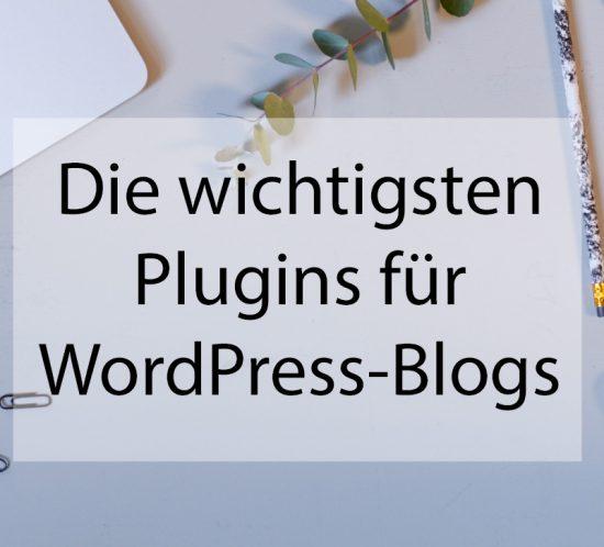 die wichtigsten Plugins für Wordpress Blogs - BLOGST
