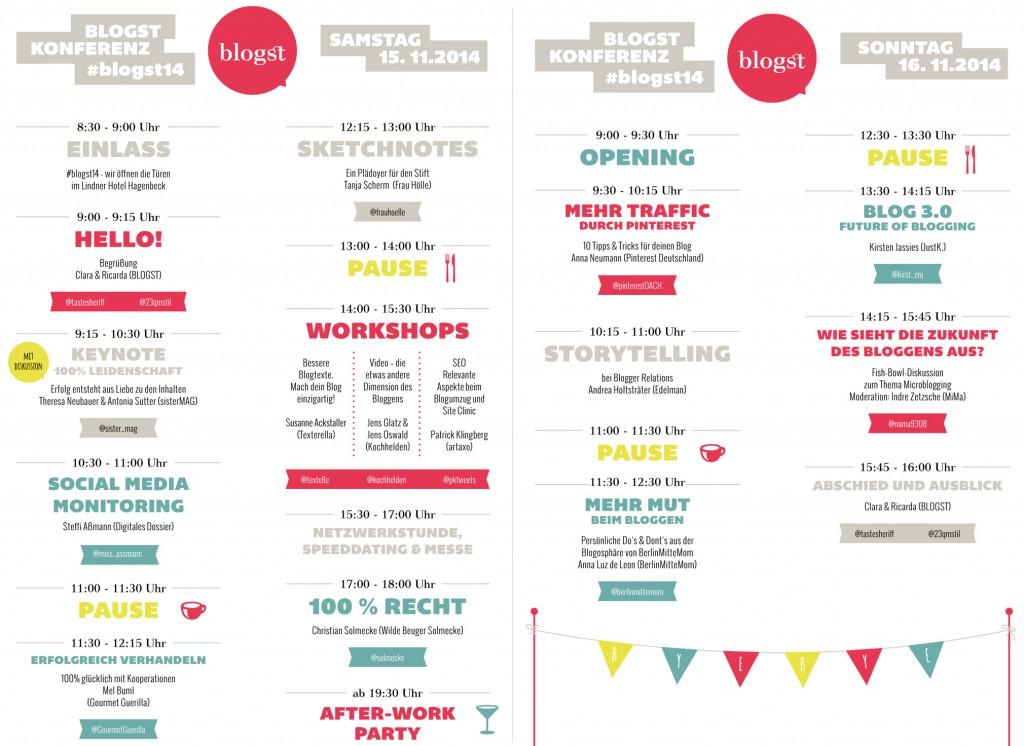 Stundenplan Blogst 14