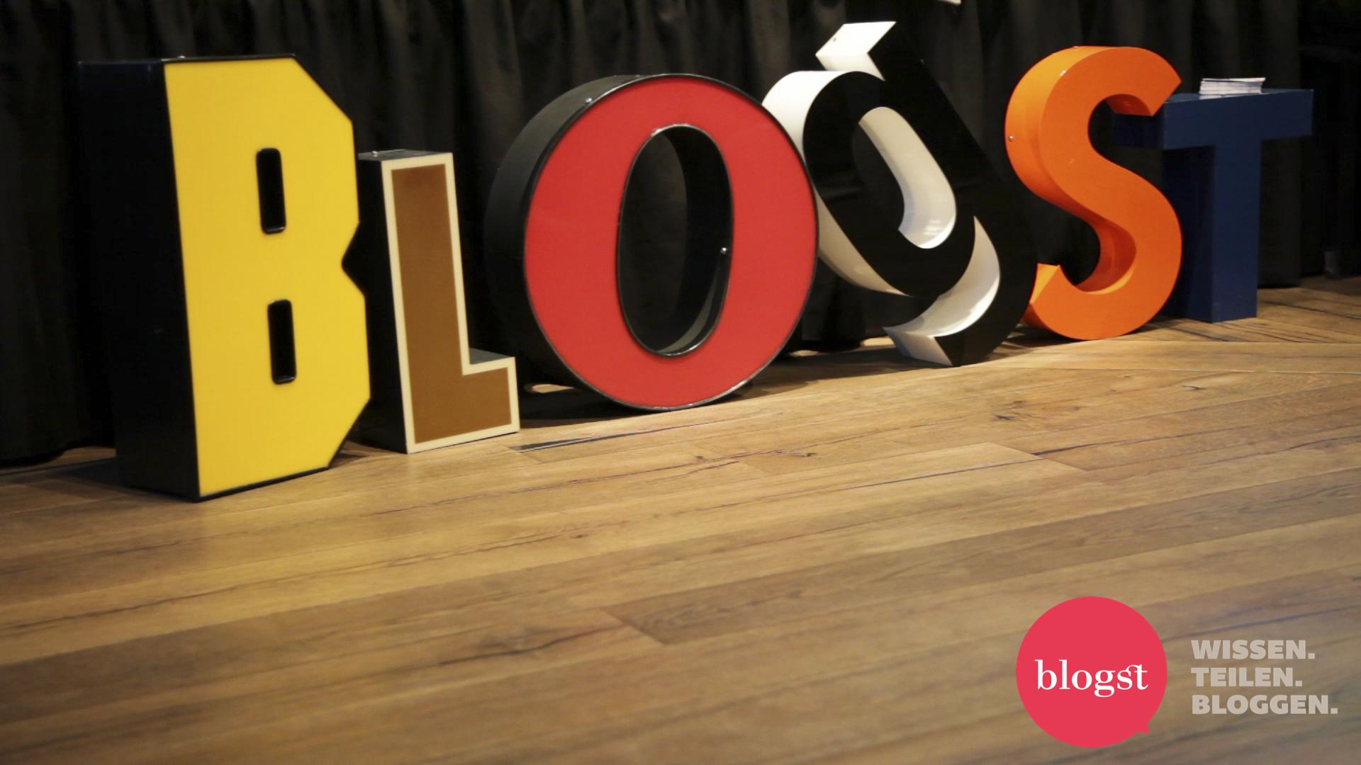 die BLOGST Konferenz 2014  – Werbung