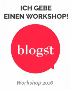 Workshop Blogst 2016