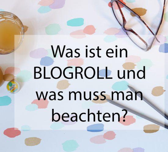 was ist ein Blogroll und was muss man beachten?!